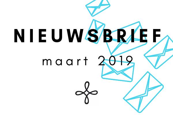 Nieuwbrief Maart 2019