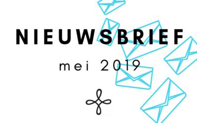 Nieuwsbrief mei 2019