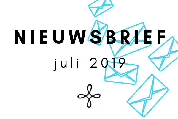 Nieuwsbrief juli 2019